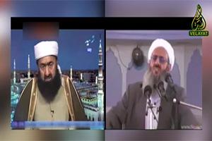 پخش کلیپ توهین های بی شرمانه شبکه های سلفی و غیر مقلد به مولانا عبدالحمید