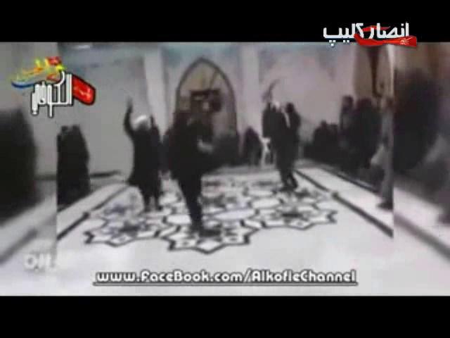 رقص و پايكوبي تروريستهاي داعش در مساجد